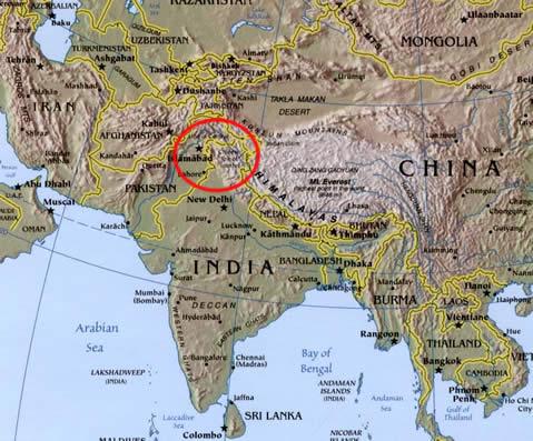 Kashmir_location